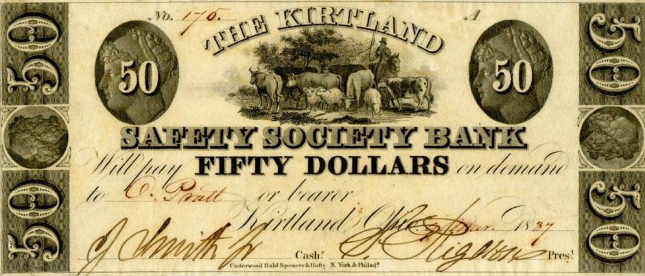 Kirtland bank note